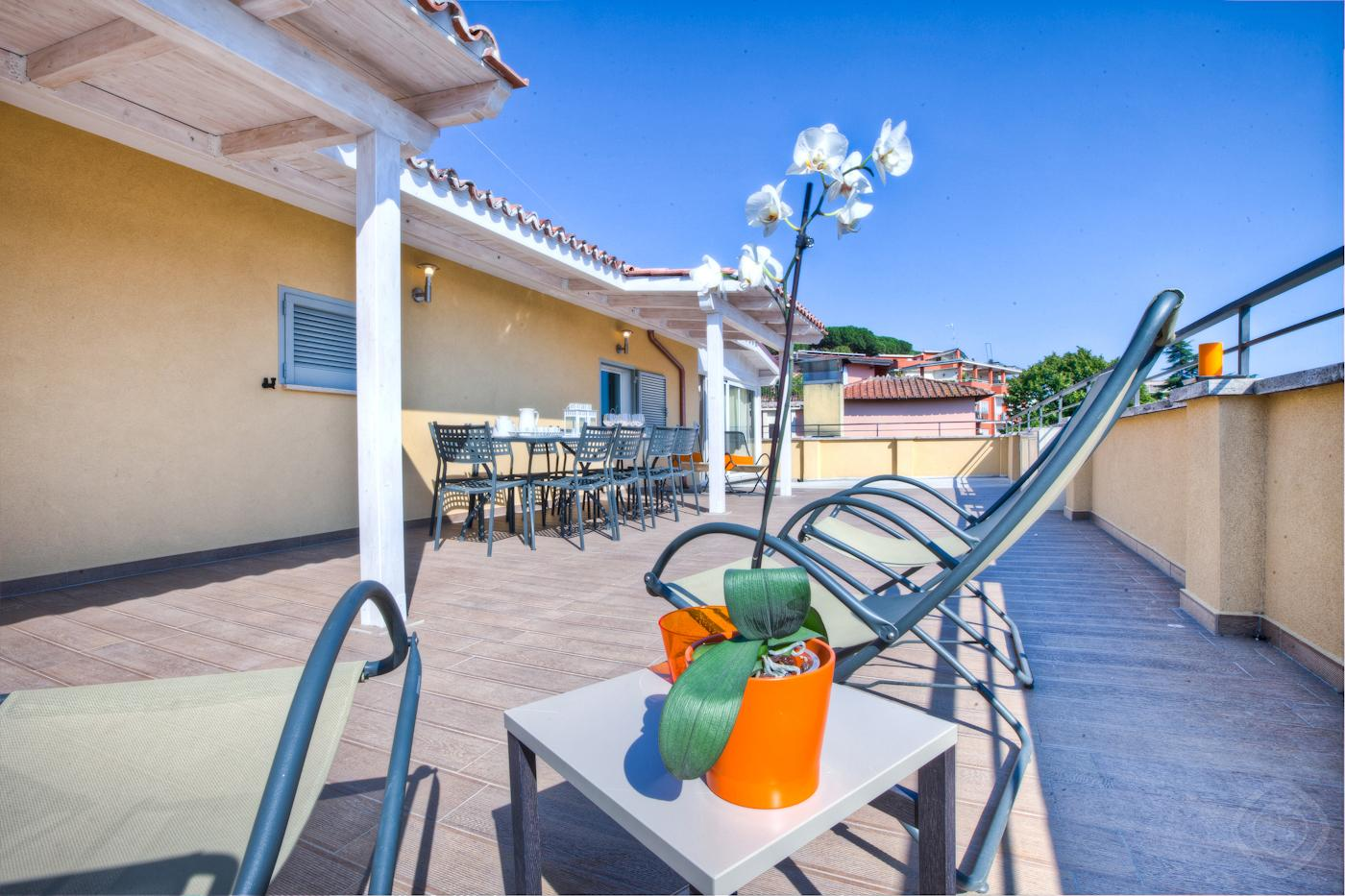 Large Terrace 160 apartment Rome photo 31815608